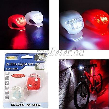 LED kerékpár világítás 2 db-os